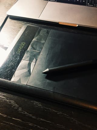Tableta gráfica Wacom Bamboo