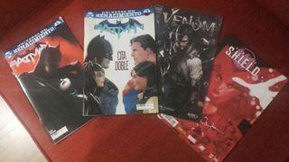 Cómics Batman, Venom, Marvel
