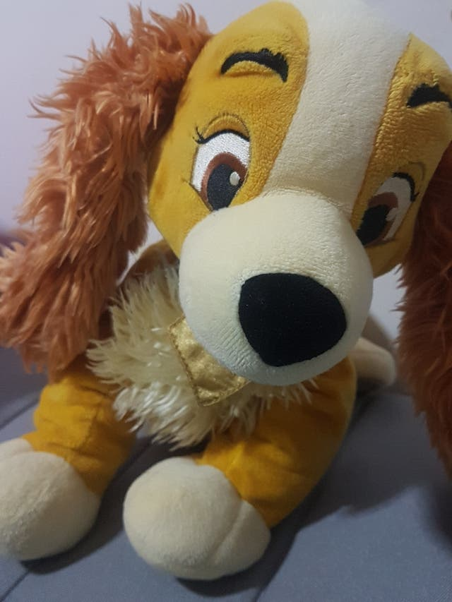 Lady Lilly peluche muppet fur, stuffed animal fur