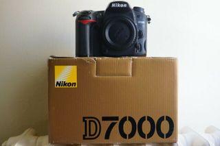 Cámara y objetivos Nikon
