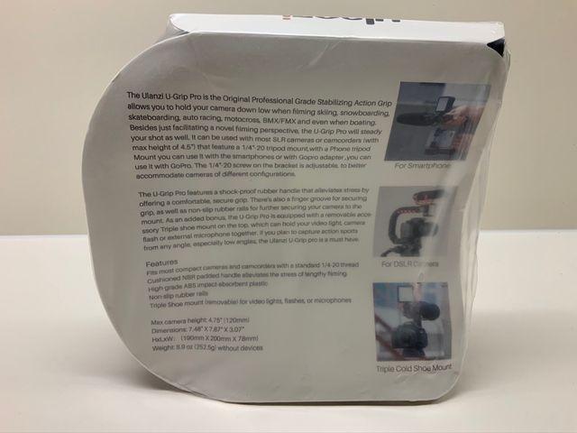 U-Grip Pro. Ulanzi. Soporte estabilizador