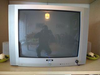 TV 32'' de tubo