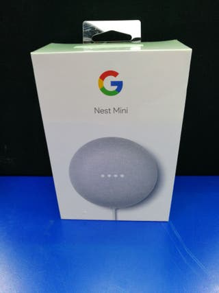 ALTAVOZ INTELIGENTE GOOGLE NEST MINI
