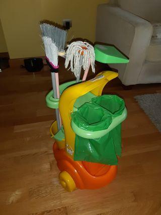 Carro de la limpieza