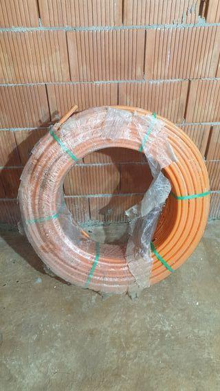 Tubería polietileno suelo radiante 16x1.5mm