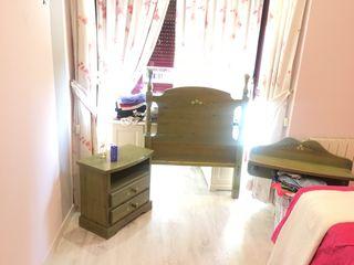 Conjunto dormitorio juvenil chica en pino macizo