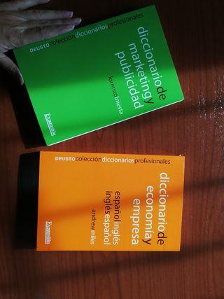 diccionarios especializados empresa estrenar
