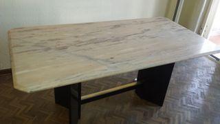 mesa salon marmol 170 por 90 75 alto
