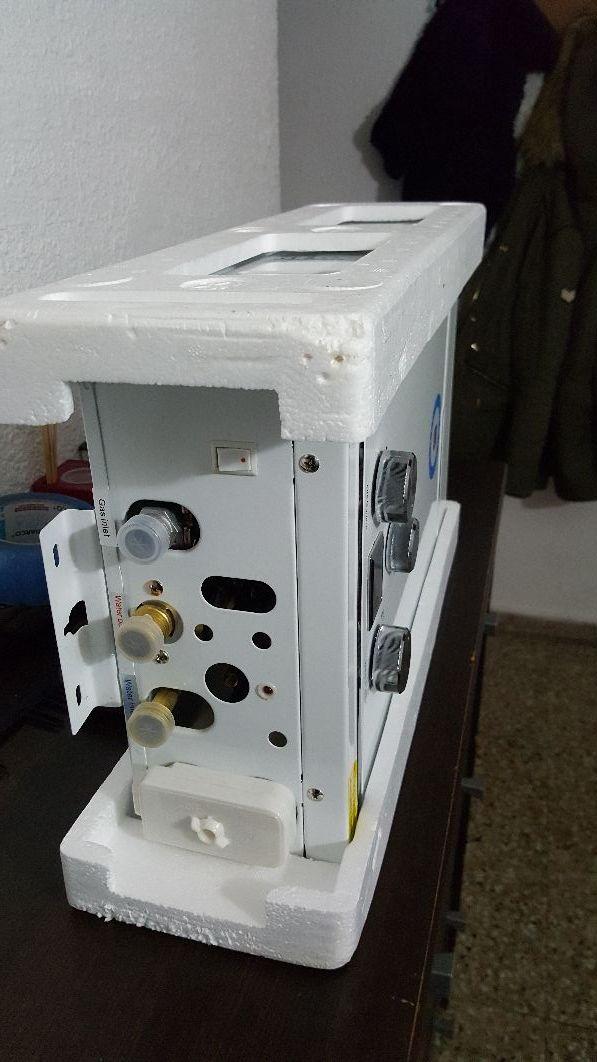 se vende calentador atmosf 8litro a gas butano