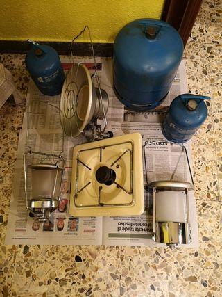 Kit camping gas
