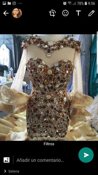 vestido, boda ,fiesta, gitana