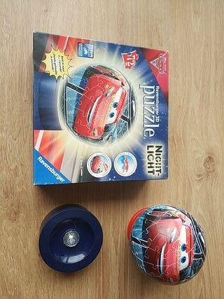 Puzzle 3D Cars