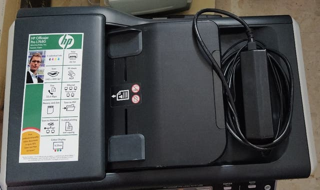 Fotocopiadora multifuncional HP Offijet Pro L7680