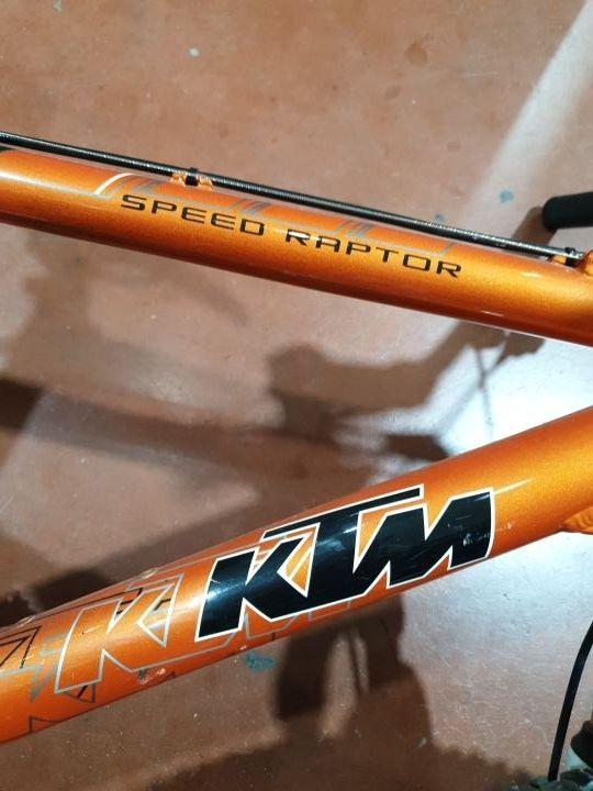 BICICLETA KTM SPEED RAPTOR