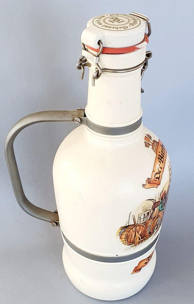 Botella, jarra de Cerveza Alemana (VACÍA)