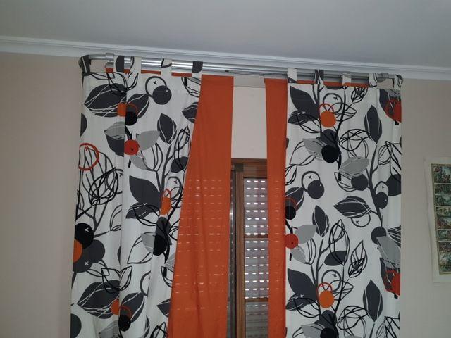 cortinas y estructura