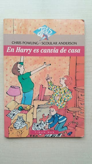 Libro En Harry es canvia de casa. Chris Powling.
