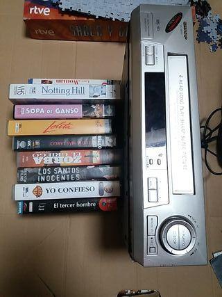 Vídeo VHS.