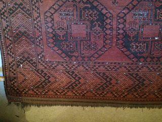 Alfombra AFGHANA antigua, auténtica