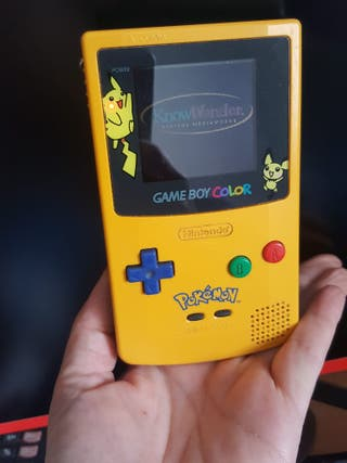 GAME BOY EDICIÓN PIKACHU
