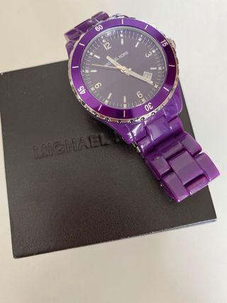 Reloj Michael Kors Morado