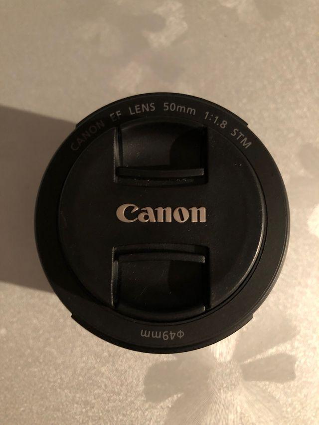 OFERTA!!! Objetivo de cámara canon