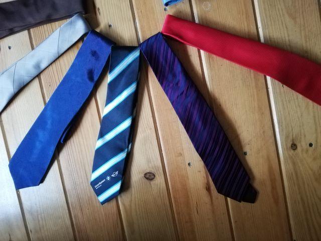3x2 corbatas marcas Massimo dutti, za