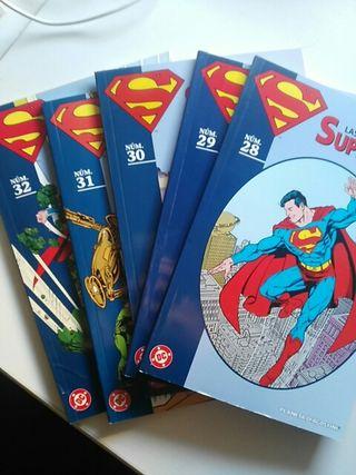 lote superman coleccionable 28 al 32