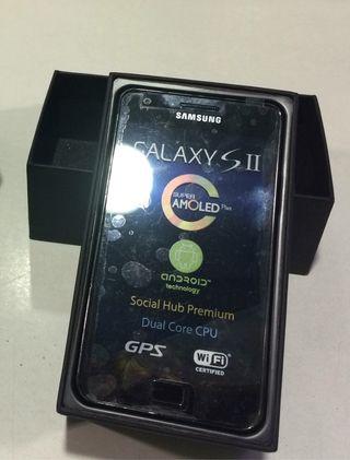 Samsung galaxy SII , 16g