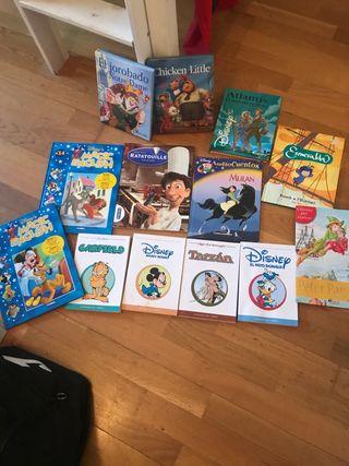 Lote libros infantil
