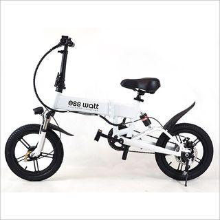 "Bicicleta eléctrica plegable 16"" 250w ebike nuevas"