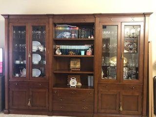 Mueble de salón de madera