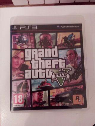 Grand Theft Auto Five V PS3