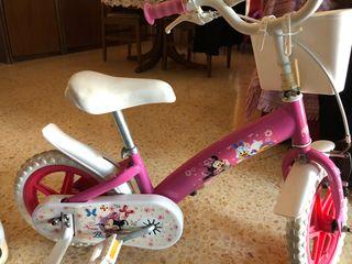 Bicicleta niña Minnie