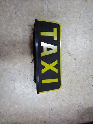 letrero taxi