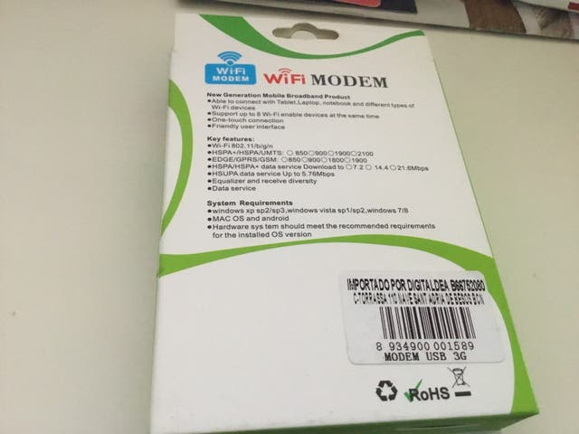 Router 3 g portátil