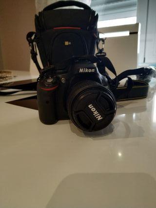 cámara Nikon 5200