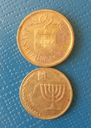 Moneda Extranjera Vintage X 2