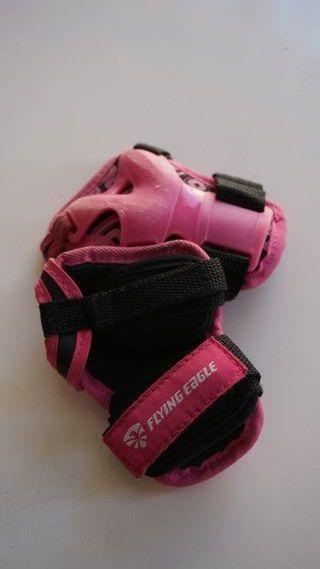Pack de protecciones infantiles (patines)