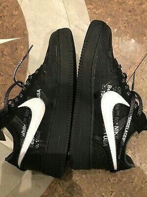 Off-White x Nike AF1 Negro talla 9.5