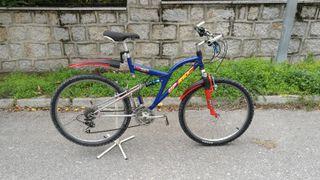 """Bicicleta de Montaña 26"""" doble suspensión"""
