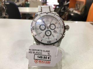 Reloj Guess cerámica X76001G1S/02 blanco