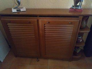 cubre radiador de madera de pino