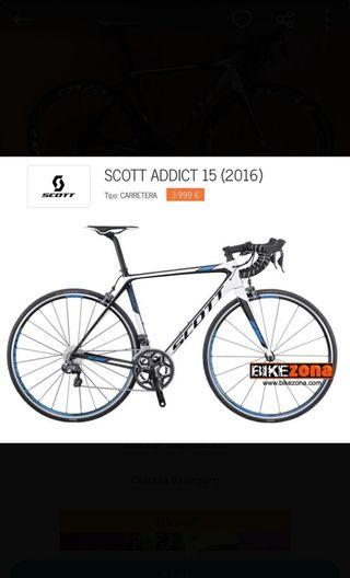 SCOTT Addict 15 di2 (2016) Talla 56