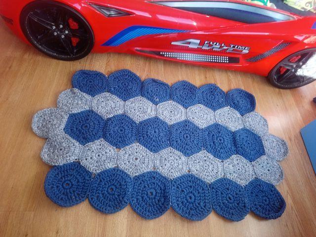 alfombras crochet a medida