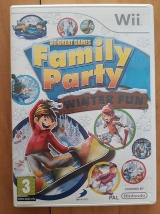 Juegos Wii (Family Party Winter Fun)