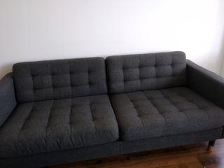 Sofá diseño gris