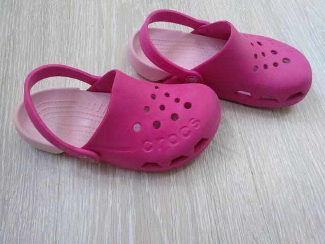 zueco niña crocs