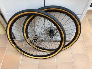 Ruedas ciclocross o gravel