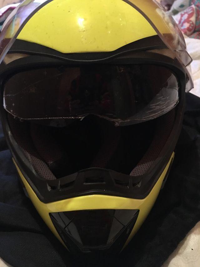 Casco moto acerbis talla m